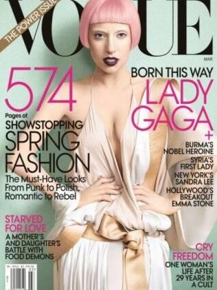 Lady Gaga na