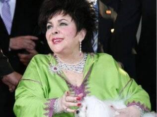 A aparição da atriz no programa de Larry King, em 2006