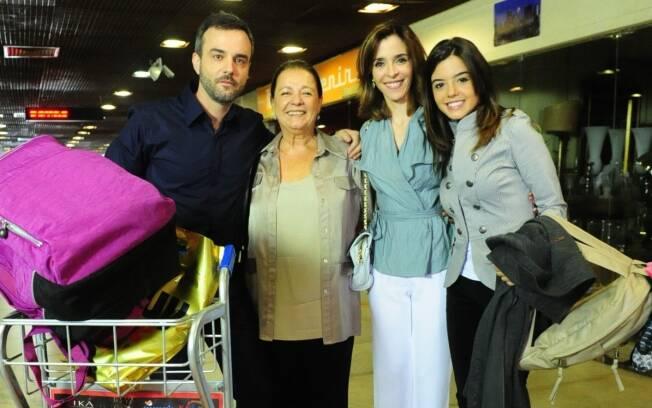 Família Alencar mudou de Florianópolis para o Rio de Janeiro