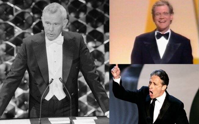 Johnny Carson, David Letterman e Jon Stewart