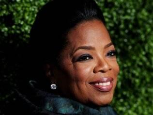 A apresentadora Oprah Winfrey liderava a lista dos mais poderosos