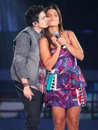 Luan Santana e Ivete Sangalo cantam