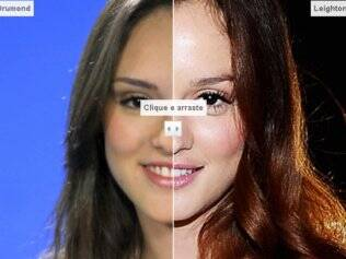 Compare Isabelle Drumond e Leighton Meester