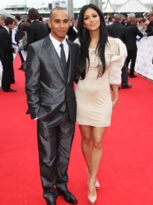 Nicole Scerzinger e Lewis Hamilton