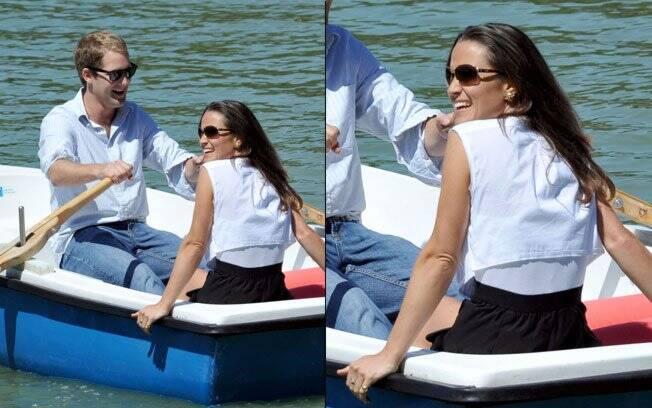 Pippa Middleton com o ex-namorado George Percy