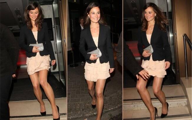 Pippa Middleton em uma festa no começo do ano: a sex-symbol do momento