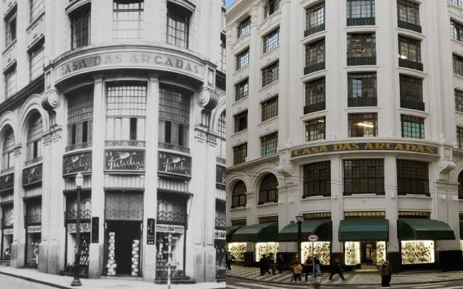 O escritório Cláudio Helú resgatou a ornametação original do edifício Casa das Arcadas, construído em estilo neoclássico