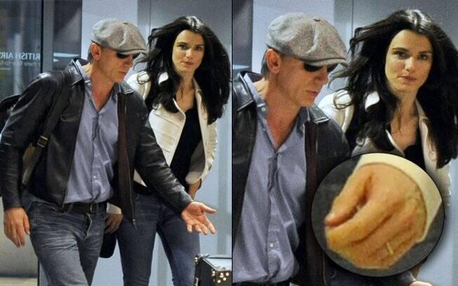 Daniel Craig e Rachel Weisz: em Nova York, casal é fotografado junto pela primeira vez