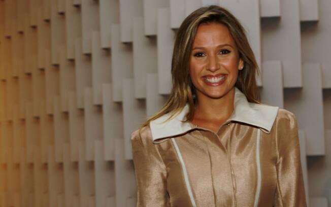 Luisa Mell no São Paulo Fashion Week