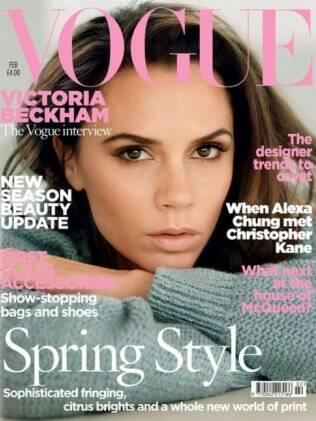 Victoria Beckham na capa da