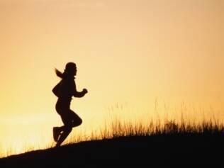 A pessoa tem mais fora para treinar no final do dia