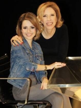 Sandy e Marília Gabriela