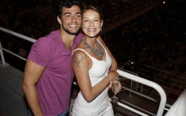 Felipe Simão e Luana Piovani