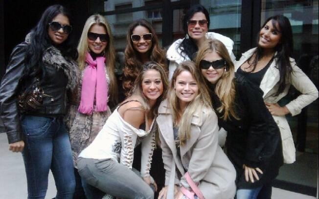 Encontro de ex-BBBs: Ariadna Arantes, Adriana Sant'Anna, Jaque Faria, Joseane Oliveira, Carol Honório, Maíra Cardi, Natália Casassola e Cláudia Colucci