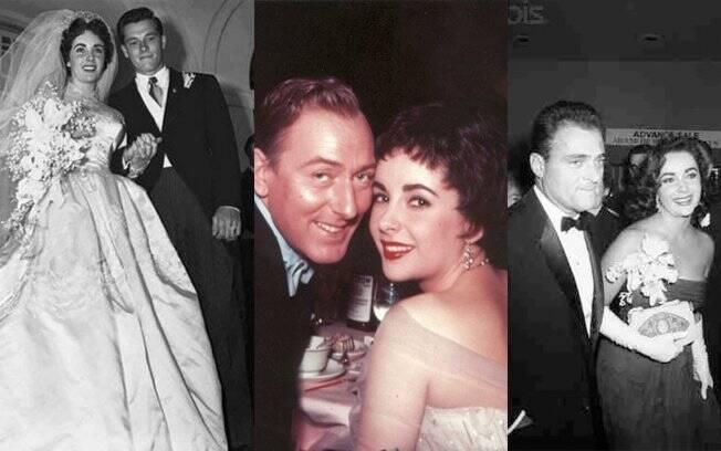 Os primeiros amores de Liz Taylor: Conrad Hilton Jr., Michael Wilding e Michael Todd