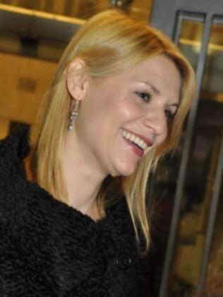 A atriz americana Claire Danes