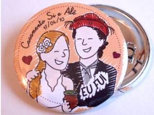 Simone e Alessandro simbolizaram a união do casal e dos costumes diferentes