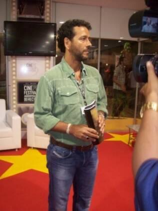Marcos Palmeira prestigia o Cine PE