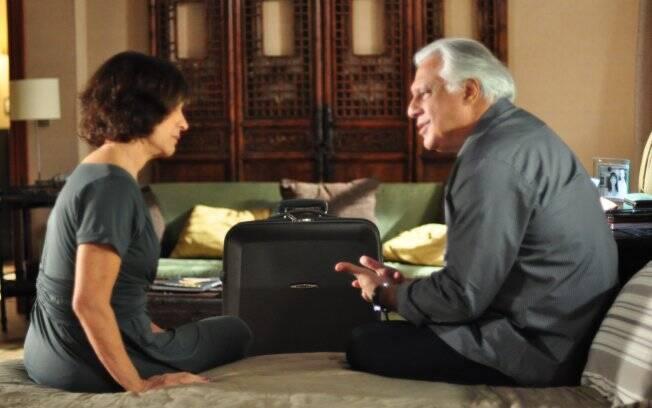 Wanda tenta uma reconciliação com o ex-marido