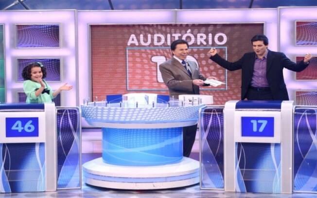 Silvio Santos, Maisa e Celso Portiolli
