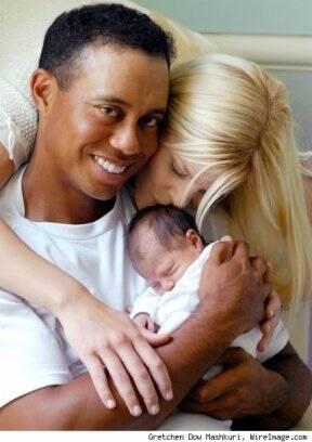 d95099fe3 ...  span Tiger Woods e família  span  ...