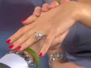 O anel de noivado de Kate Hudson