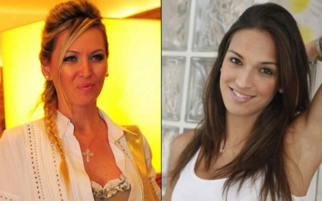 Adriana Colin e Talitha Morete