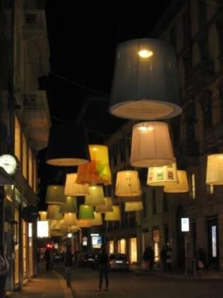 Durante a semana, todas as ruas de Milão se enchem de design