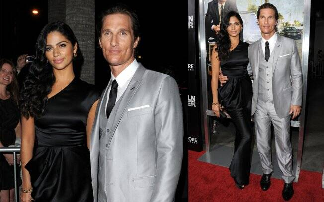 Camila Alves e Matthew McConaughey: casal low profile