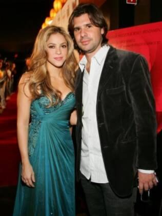 Shakira e Antonio de la Rúa
