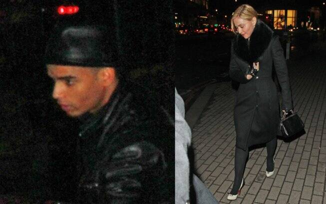 Madonna e Brahim Zaibat