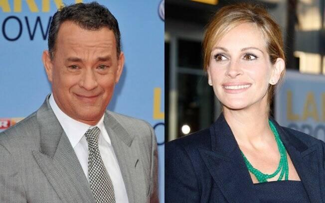 Tom Hanks e Julia Roberts