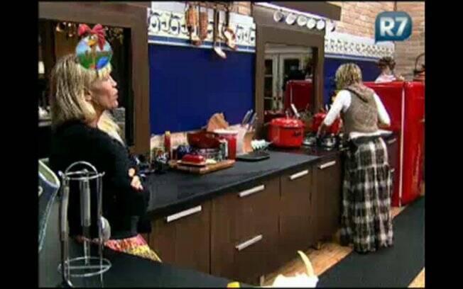 Duda fica irritada com Joana Machado e desabafa com Anna Markun