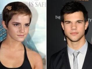 Emma Watson e Taylor Lautner: juntos no cinema?