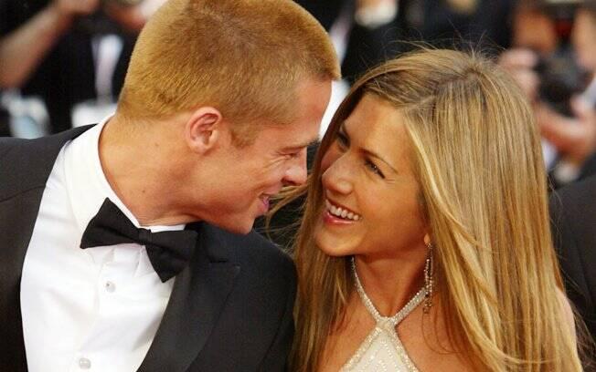 Jennifer Aniston e Brad Pitt ficaram juntos por quase cinco anos