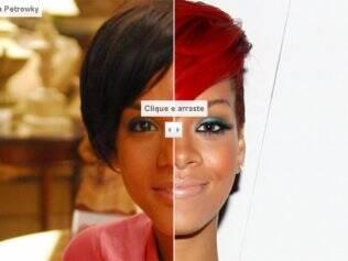 Compare Aparecida Petrowky e Rihanna