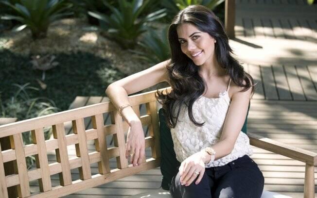 Daniela Albuquerque: dedicada ao trabalho