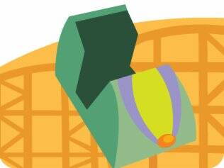 Andar de montanha-russa: vetado