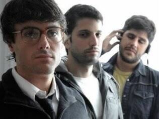 Kayky Brito, Marco Antonio Gimenez e Marauê Carneiro, à direita