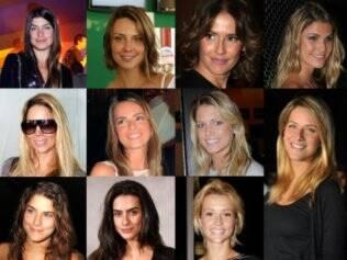 Joana, Camila, Deborah, Julia, Danielle, Viviane, Heleninha, Giovanna, Priscila, Cleo e Juliana