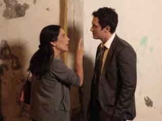 Norma e Léo: a ex-técnica em enfermagem sera uma das suspeitas de matar o vilão