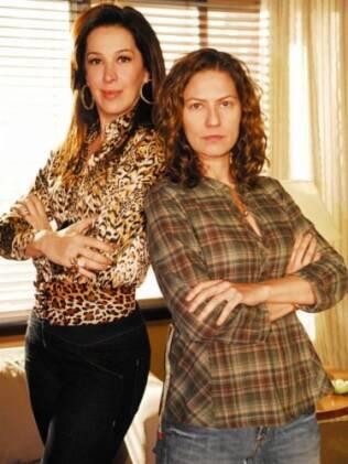 Claudia Raia e Patrícia Pillar: dupla central de