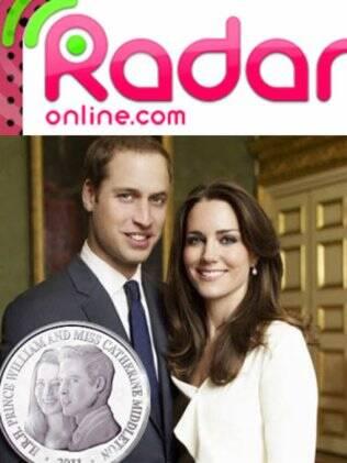 William e Kate foram imortalizados em moeda comemorativa de noivado