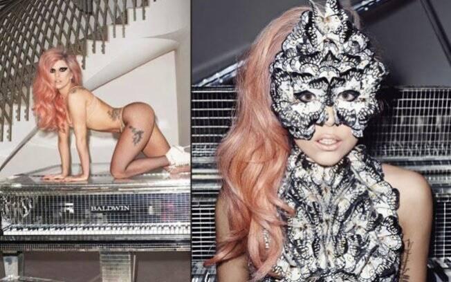 Lady Gaga nas páginas da Harper's Bazaar