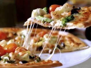 Dá para regular as calorias mesmo na pizzaria