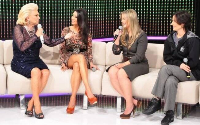 Hebe,Flávia Noronha, Milene e Soninha