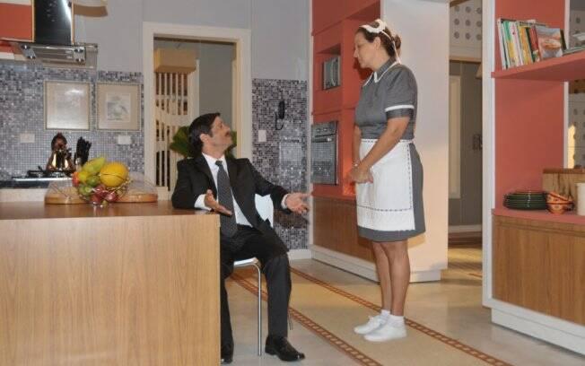 Betty Lago e Felipe Martins formam um casal na novela