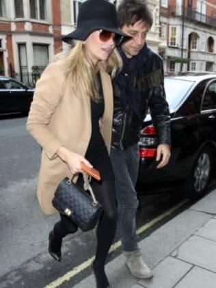 Kate Moss e Jamie Hince nesta semana em Londres