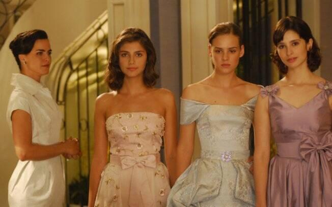 Ana Paula Arósio, Tammy di Calafiori, Ariella Massoti e Ana Sophia Folch no remake de