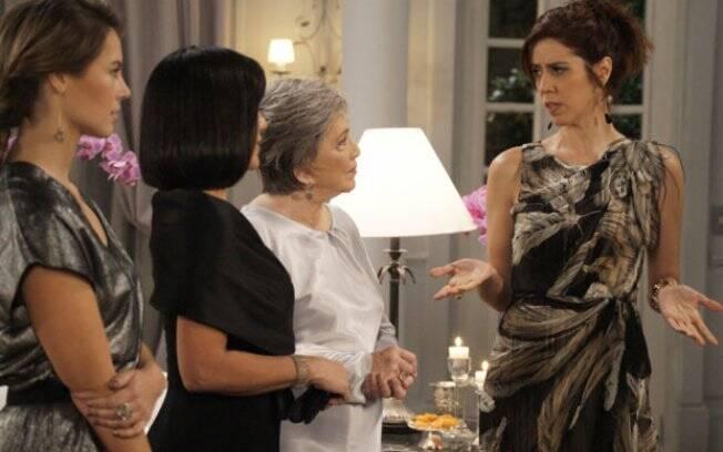 Norma citou o nome de Léo e Bibi mostrou que não tem papas na língua
